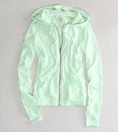 Mint green hoodie- American Eagle Outfitters