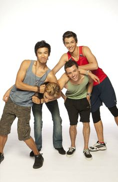 Jordan Rodrigues, Tim Pocock, Tom Green and Thomas Lacey