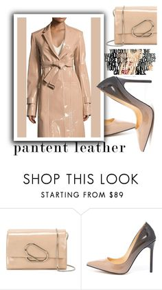 """""""City Slickers :Patent Leather"""" by samketina ❤ liked on Polyvore featuring 3.1 Phillip Lim, Daya, Calvin Klein Collection and patentleather"""