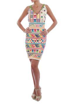 Cotton Jute Dress  by Babita Malkani