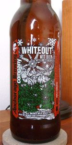 NO. Whiteout Wit - I had such high hopes, but I wouldn't buy this one again.  It just had a weird aftertaste to it.  The brewery's site was not really pinable, but it's http://anchoragebrewingcompany.com/beers
