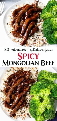 There is no need to grab take out once you see how quick and easy it is to make Spicy Mongolian Beef at home! Have this sweet and spicy meal on the table in just 30 minutes. Recipe Using Hoisin Sauce, Gluten Free Hoisin Sauce, Recipes With Soy Sauce, Hoisin Beef Recipe, Beef Dishes, Food Dishes, Main Dishes, Sliced Beef Recipes, Beef Sauce