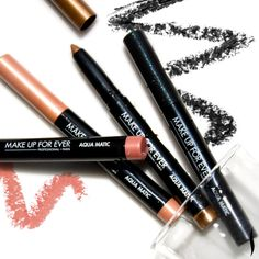 MAKE UP FOR EVER has done it again. These waterproof eye shadow pencils seriously stay put. #Makeup #Sephora #MakeUpForever