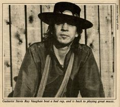 "Guitarists from all over tend to cite Stevie Ray Vaughan as their primary influence. He may very well be the ""Pride and Joy"" of the Dallas area, even if Austin claims him as its own.Back on March 26, in 1987, Michael Corcoran profiled the Dallas blues guitar icon for the..."