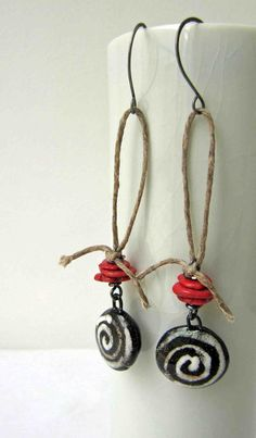 Pair 12 (15th April), Claire Lockwood, something to do with your hands. Ceramic charms - Scorched Earth