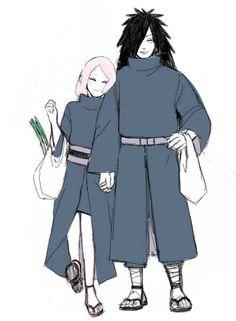  Madara & Sakura ❖ MadaSaku ❖ Мадара и Сакура 