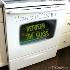 How To Clean Inside Oven Glass Doors Good To Know