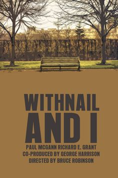 Withnail and I poster 1987