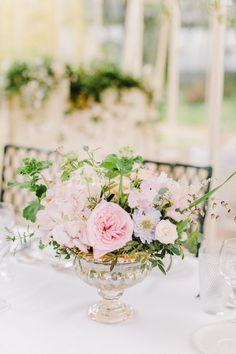 Pretty pastel floral centrepiece | One Fab Day Floral Wedding Decorations, Floral Centerpieces, Wedding Flowers, Barn Wedding Venue, Wedding Table, Our Wedding, Wedding Planner, Destination Wedding, Sweetest Day
