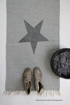 tapis étoile - star