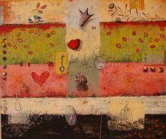 """Saatchi Art Artist Sonja Kobrehel; Painting, """"510"""" #art"""
