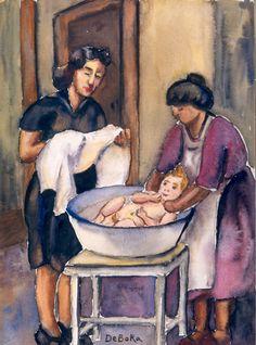 Modernización de la infancia II | banrepcultural.org