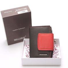 5d7564fd62c Luxusní dámská kožená peněženka černá -  Bellugio Armi