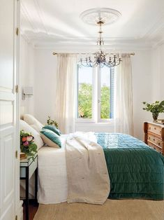 〚 Centennial villa with a small garden in the heart of Madrid 〛 #classic #bedroom #white #window #interior #design #home #decor #idea #Inspiration #cozy #Living #style #space #house #interiordesign #homedecor Gothic Home Decor, Indian Home Decor, Fall Home Decor, Cheap Home Decor, Autumn Home, Decoration Ikea, Wood Pallet Furniture, Diy Bedroom Decor, Bedroom Signs