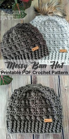Make one of these cozy hat crochet patterns today! winter hat crochet  patterns - crochet 181350cc6