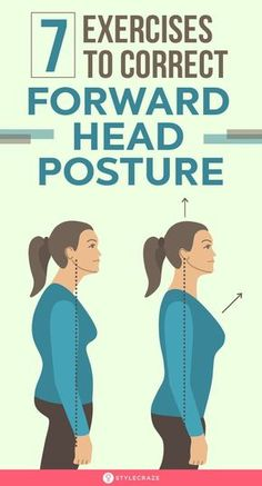 Forward Head Posture Correction, Posture Correction Exercises, Posture Stretches, Posture Exercises, Good Posture, Improve Posture, Home Remedy For Cough, Cold Home Remedies, Neck And Shoulder Pain