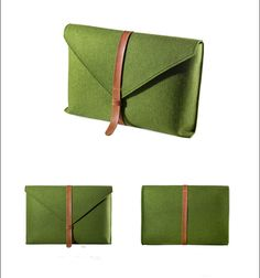 Design your personal laptop bag for your MacBook in one of the three classic colors ( Green, light brown and grey) with elastic belt closure.  This laptop protection is an individual and...