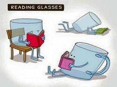 Reading glasses...