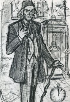 First Doctor (VERY rough prep sketch) by rainesz.deviantart.com on @deviantART