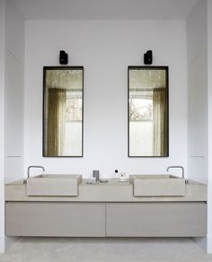 Modern bathroom inspiration bycocoon.com | Piet Boon design bathroom taps | bathroom design products | inox stainless steel bathroom taps & fittings | renovations | interior design | villa design | hotel design | Dutch Designer Brand COCOON