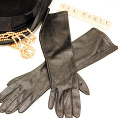Long Black Gloves, $24, now featured on Fab.