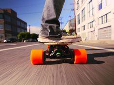 Sanjay Dastoor: A skateboard, with a boost via TED