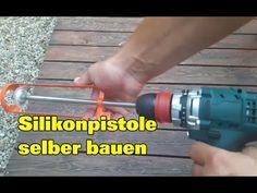 Silikonfugen ziehen mit selbstgemachter Silikonpistole | Fugen silikonieren Drill, Full Bath, Homemade, Crafting, Hole Punch, Drills, Drill Press