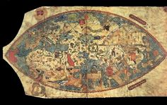 Genoese Map – 1457 - This Genoese map of the world from the year 1457 relied heavily on the account of traveler Niccolo da Conti (1395–1469), an Italian merchant and explorer who traveled to Southeast Asia and India, a…