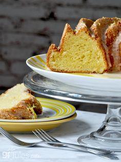 GF Lemon Pound/Bundt Cake == gfJules