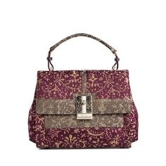 Rubelli Small Hand Bag with shoulder strap and jewellery clasp