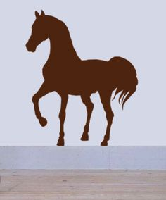 Horse Wall Decal western rustic decor equestrian by HouseHoldWords, $39.00