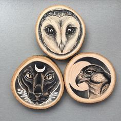 Image result for wood paintings burning