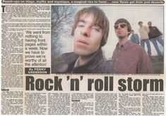 Oasis Music, Liam And Noel, Liam Gallagher, Manchester, Alka Seltzer, Rock Stars, Blur, Bands, Musica