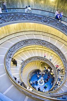 Vatican City Stairs