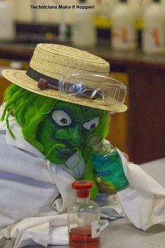"CHS Photo Club ( Science Technician ""This school technician's warning: if u don't wear goggles properly, your skin will turn green & eyes will burge! Photo Competition, Young People, Green Eyes, Science, Club, Shit Happens, School"