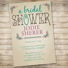 ade9641593d foil leaves brial shower invitation in baby blue EWBS061 as low as  1.19