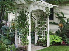decorating a garden | How to Decorate a Garden Arbor thumbnail