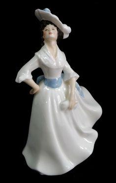 Royal Doulton Margaret Figurine #2387 Very Good Bone China Collectible 1981