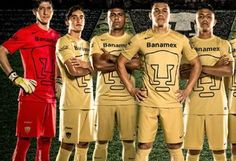 Pumas de la UNAM 2014/15 Nike Home and Away Jerseys