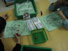 Keen On Kindergarten: Apple Themed Math Work Stations