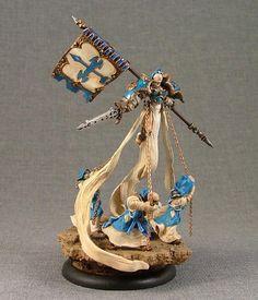 Harbinger of Menoth. Blue instead of red.