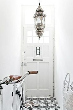 Light Positive Blog Post: Decorative Pendant Lamps - morocan entryway pendant