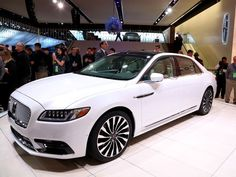 2017 Lincoln Continental at 2016 Detroit auto show stays fairly true to the concept model and caters to owner's needs. Detroit Auto Show, Lincoln Continental, Bmw, Elegant, American, Classy, Chic