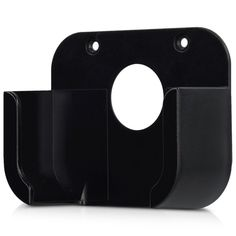 kwmobile bracket for Apple TV (4. Gen) Streaming box TV wall bracket, incl. accessories for mounting on wall or TV in black