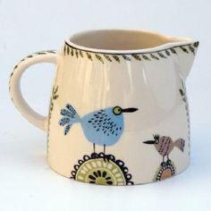 Birdlife Creamer Jug by Hannah Turner - another jug I love