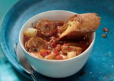 They should call it Italian Sausage, fennel and tomato soup (vegetarian of course).  Delicious.  I used Smart Sausages Italian.  I only put in 2 and a half cups of vegetable broth.  Definitely use San Marzano tomatoes.