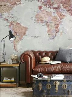Entire Wall Map