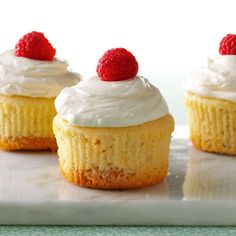 """Recipe for a Key Lime Pie Cupcakes by Julie Herrera-Lemler, Rochester, Minnesota. """"I bake over 200 of these cupcakes for our church suppers, and we always run out. If you can't find Key lime juice, use lime juice. Just add a tad more sugar. Cupcake Recipes, Cupcake Cakes, Dessert Recipes, Recipes Dinner, Cup Cakes, Rose Cupcake, Picnic Recipes, Cupcake Frosting, Cupcake Ideas"""