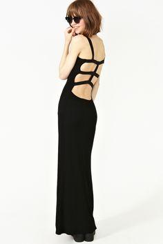nasty gal. flashback maxi dress. #fashion