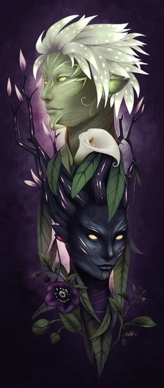 Hellebore and Knives in the Dark by ~darchala on deviantART
